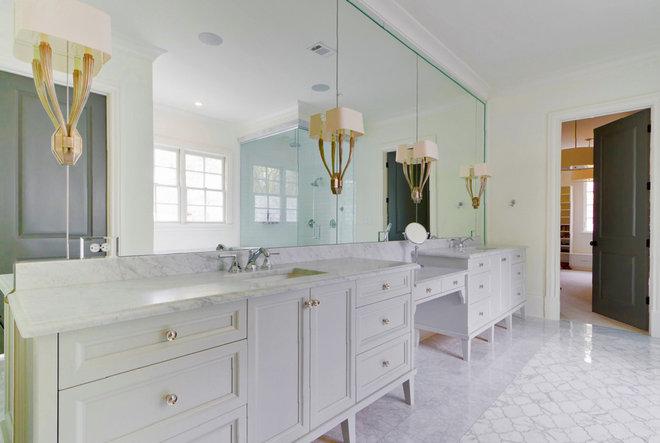 Transitional Bathroom by Satori Homes & Renovations