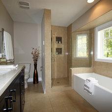 Contemporary Bathroom by SCC Kitchen Bath & Home
