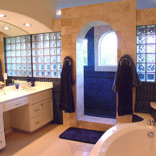 Mediterranean Bathroom by Asomoza Homes - Design Build
