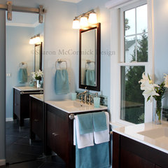 contemporary bathroom by Sharon McCormick