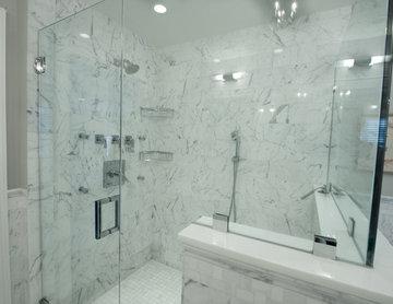 Master Bath Shower & Shower Seat