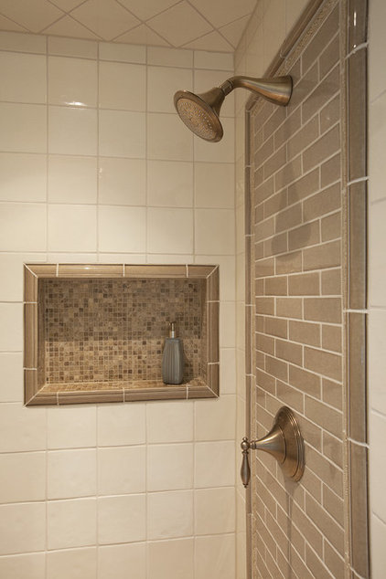 Traditional Bathroom by Drury Design