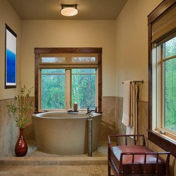 Master Bath Soaking Tub Steamboat Springs Ski Area Storm Meadow Drive Mountain/A