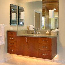 Asian Bathroom by Designing Edge
