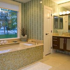 Contemporary Bathroom by Sroka Design, Inc.