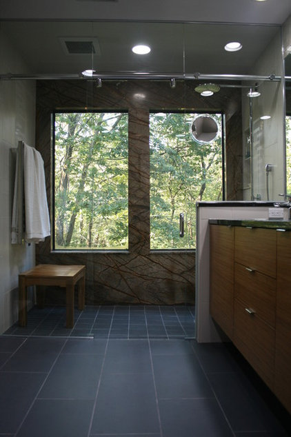 modern bathroom by Kimberly Arnold Fletcher