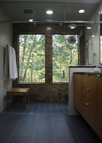 Contemporary Bathroom by Studio On Cedar LLC