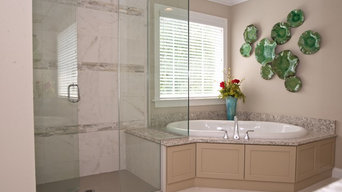 Master Bath - Tan and Cream
