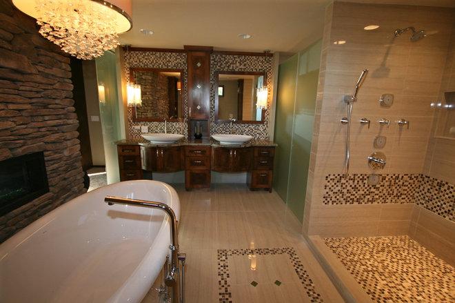 Contemporary Bathroom by Taylor Design
