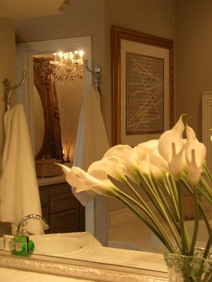 Traditional Bathroom by Terri Symington, ASID