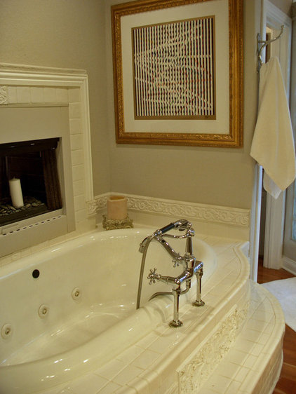 Traditional Bathroom by Terri Symington, ASID