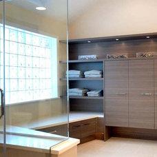 Contemporary Bathroom by John Hall / The Hall Design Group llc.