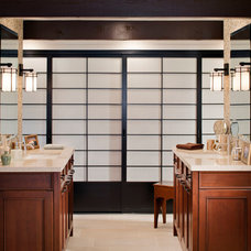 Asian Bathroom by The Home Improvements Group, Inc.