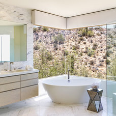 Contemporary Bathroom by Palm Design Group