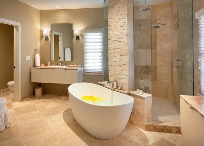 Contemporary Bathroom by Timothy A. Cook Designs