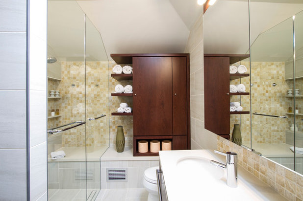 Best Contemporary Bathroom by Princeton Design Collaborative