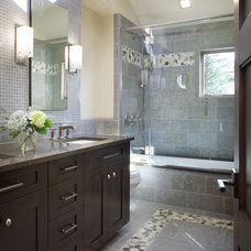 Modern Bathroom by V. Betty Inc. Interior Design