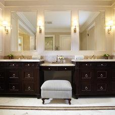 Traditional Bathroom by Harvest House Craftsmen