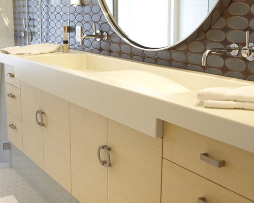 Corian Trough Sink Home Design Ideas Pictures Remodel