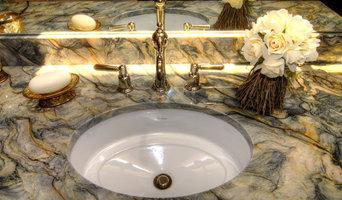 Master Bath Vanity Quartzite