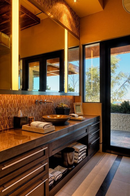 Contemporary Bathroom by Raftery construction