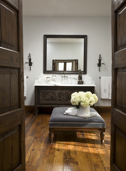 Traditional Bathroom by Palm Design Group