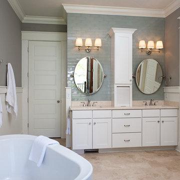 Master Bath Vanity Wall