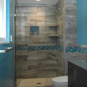 Master Bath Walk-in European Shower