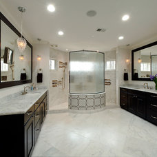 Traditional Bathroom by Holiday Kitchens