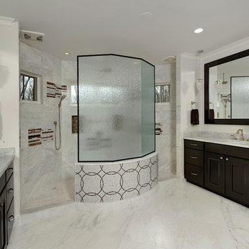 Master Bath | Walk-Through Shower & Separate Vanities