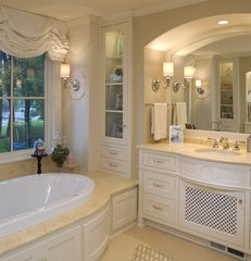 traditional bathroom by Warren Home Restorations