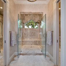 Beach Style Bathroom by Weber Design Group, Inc.