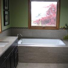 Contemporary Bathroom by Swalling Walk Architects, LLC