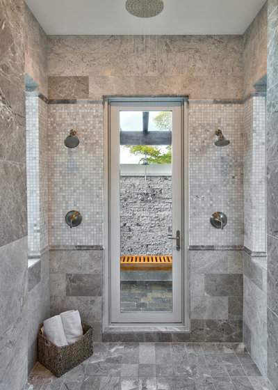 American Traditional Bathroom by WDG Architecture | Planning + Interiors