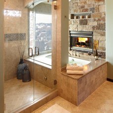 Traditional Bathroom by Studio 10 Interior Design