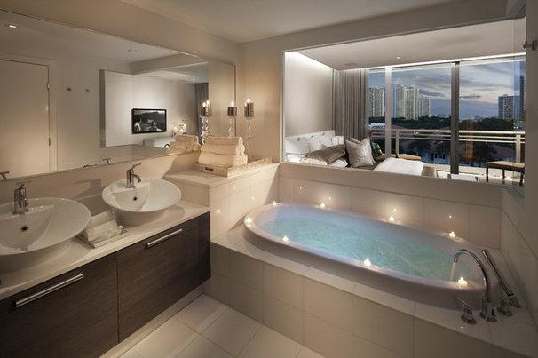 Contemporary Bathroom by RS3 DESIGNS