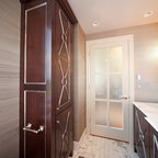 Master Bath His Amp Hers Vanity Contemporary Bathroom