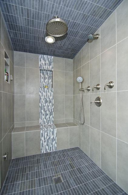 Contemporary Bathroom by Summit Design Remodeling, LLC