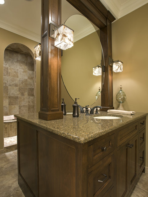 Double Sided Vanities Design Ideas & Remodel Pictures | Houzz
