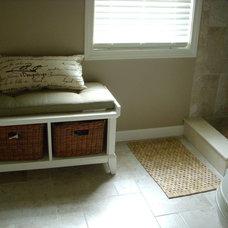 Traditional Bathroom Master Bath with walk-in shower