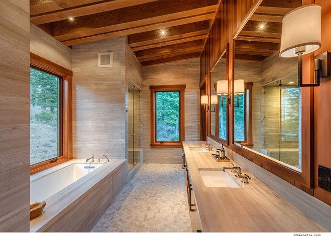 Modern Bathroom by ZAK Architecture