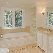 Traditional Bathroom by Danniels-French Design