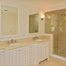 Traditional Bathroom by Danniels-French Design