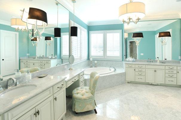 Traditional Bathroom Master Bathroom #1