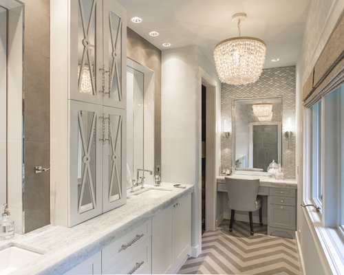Large Master Tub Shower Combo Design Ideas Remodels Photos