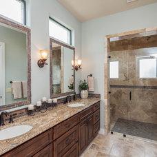 Traditional Bathroom by Jenkins Custom Homes