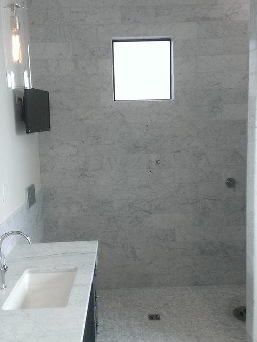 Master Bathroom New Construction 6 Quot X 18 Quot Carrara Marble