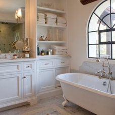 Traditional Bathroom by Abbott Moon