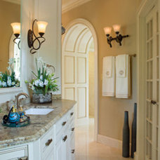 Traditional Bathroom by Jennifer Stoner Interiors