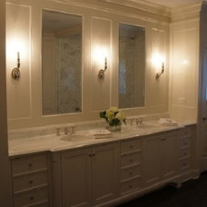Traditional Bathroom by Adel Woodwork Inc